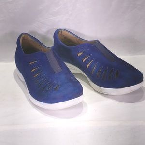 Comfortiva Tinsley slip-on Casual - Blue suede-6W